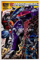 TvG Starscream Shockwave SnakeEyes  Sketch Cover by fbwash