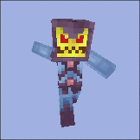 Minecraft Skeletor Skin by MetalFrog