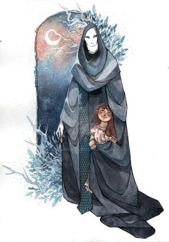 Commission: Voldemort and Lily Luna by Bonnino