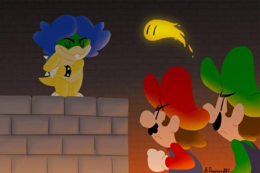 Welcome, Mario Brothers by BThomas64