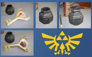 Zelda Pot and Key by Hysteria347