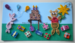 Quilling - card 83 by Eti-chan
