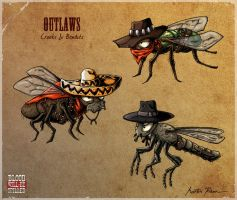 Outlaws by mkozmon