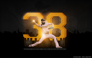 Brian Wilson Wallpaper 2011 by BrittainDesigns