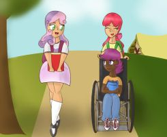 Crusaders Go To School by PicklePieCow