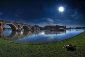 Toulouse HDR Fisheye by n0stalgiie