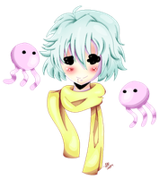Jellyfish Prince by BorderlineCloud