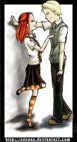 HP:  Draco and Ginny by Ezsuzs