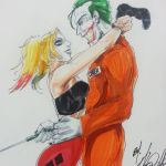 Joker and Harley Quinn by Wild-Inx