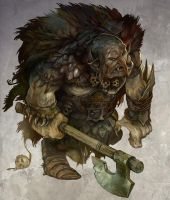 Great Orc by JonHodgson