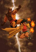 WOLVERINE WEDNESDAY - 40 by reau