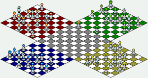 Four Way Chess by unusable
