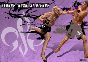 George St Pierre Unleashed by Bardsville