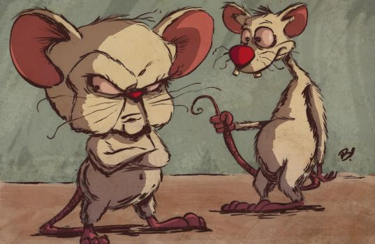 Pinky and the Brain by DaveBardin