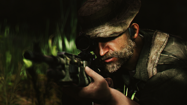 Cpt.Price by AngryRabbitGmoD