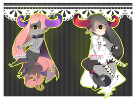 Cyclop Witches Adoptables / 2/2 OPEN by HappyAdoptsChan