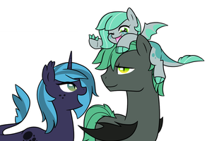 Tidra Siblings by starrynight32