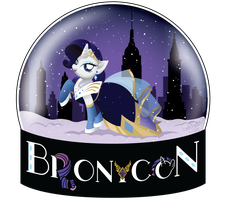 BroNYCon January 2012 Official Tee-Shirt Design by midori-no-ink