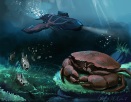 THE CRAB by stuffed