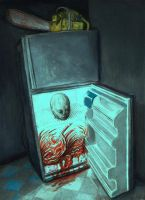 The refrigerator: Portrait of a serial killer by tboersner