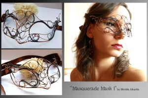 Masquerade Mask I by mea00