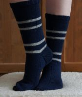 House Socks - Ravenclaw (movie) by Miharu-Miracle