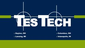 TesTech Business Card BACK by JustinRampage