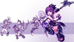 Grand Chase Wallpaper Arme by QuasiXi