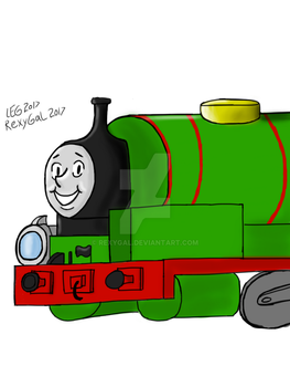 Percy the Small Engine by RexyGal