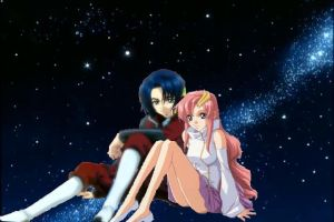 Lacus and Athrun by naruto6393