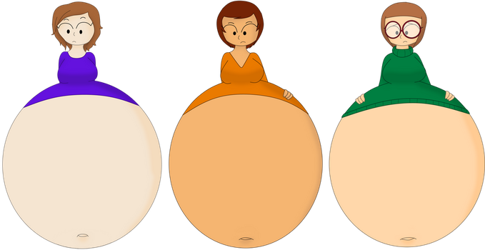 [CM] Claire, Emily and Jade inflation by GirlsVoreBoys