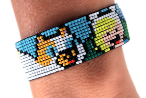 Adventure Time: Fionna and Cake Bracelet by PookNero