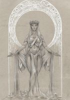 The Grey Goddess by bookstoresue