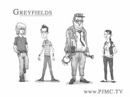 The Cast of Greyfeilds by McQuade