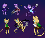 Style characters by elisonic12