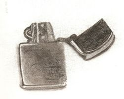 Zippo Lighter by TelevisionBox