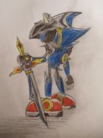 CE: Metal Sonic knight by Sonic0001