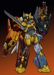 Vindicator, Decepticon Gestalt by EmeraldBeacon