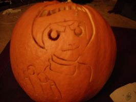 Rock Lee Pumpkin by Leon-Kastello