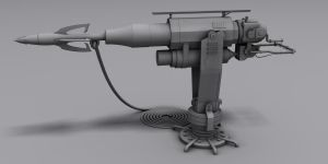 Harpoon Gun by The-5