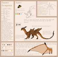 Sacer Dragon Reference Sheet by Susiron