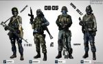 Battlefield 3 Kit Selection by Shinmeireiyyu