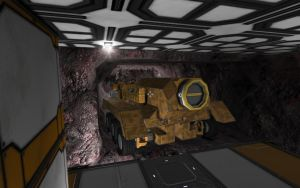 Space Engineers - Tunnel Bore Boring A Tunnel by Shroomworks