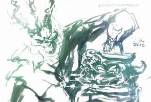 Thresh, the Chain Warden (Sept 5th, 2013) by Alex-Chow