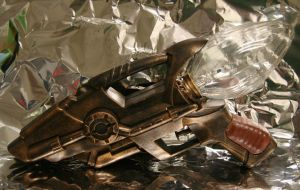 1885 Steampunk Laser Pistol by JohnsonArms