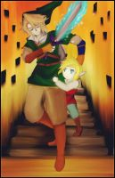 Link and Link by Christy58ying