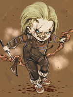 Chucky the Good Guys by diablosso666