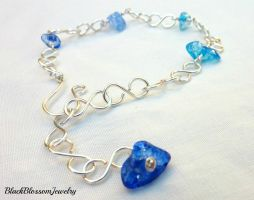 Some of the Ocean Bracelet by BlackBlossomJewelry
