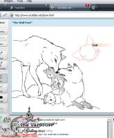 Iscribble Drawing-Wolf Nation2 by theversion