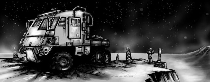 Obelisk Engineering Freight Hammer tractor by ShamanX